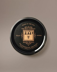 frye leather care
